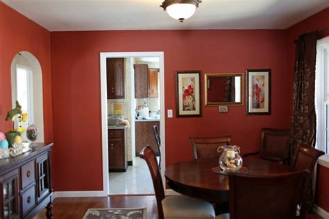 how to paint a room red classic deep red paint ideas for your dining room zimbio
