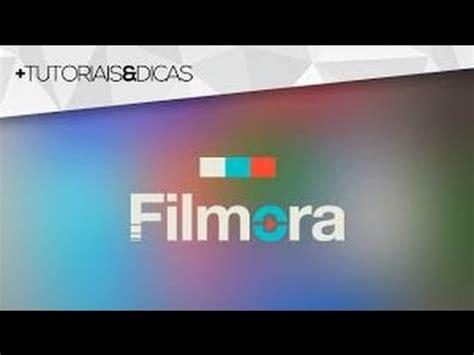 tutorial filmora em portugues como colocar nome em uma intro pelo filmora tutorial