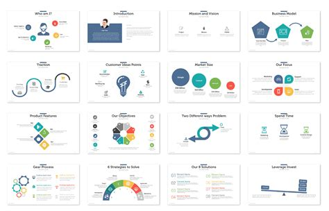 Startup Pitch Deck Template Presentations Template Startup Pitch Deck Template