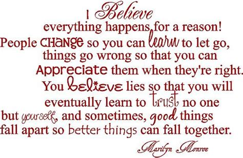I Believe Essays Everything Happens For A Reason by Quotes About Everything Happens For A Reason Quotesgram