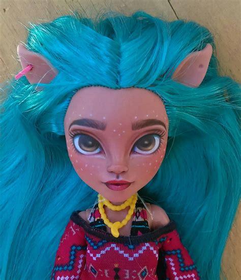 doll etsy ooak custom high doll repaint awinita isi