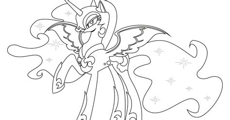 coloring page nightmare moon nightmare moon coloring pages team colors