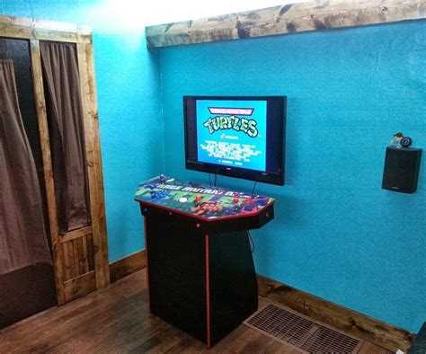 pedestal arcade 4 player pedestal arcade cabinet for mame arcade pc and