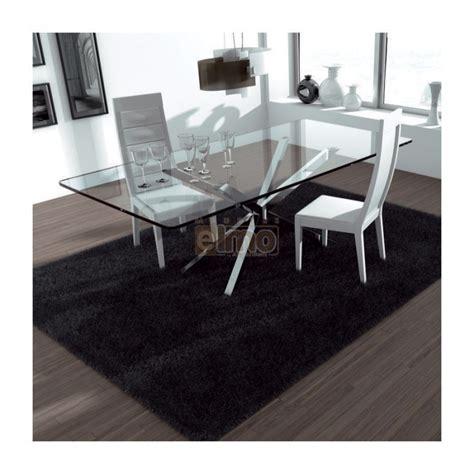 Salon Salle A Manger Design 2678 by Table De Salle 224 Manger Moderne Pied M 233 Tal Plateau Verre