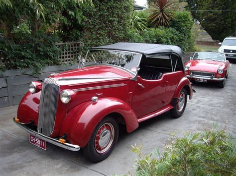 vauxhall car 1940 vauxhall wyvern caleche 1940 australian build for sale