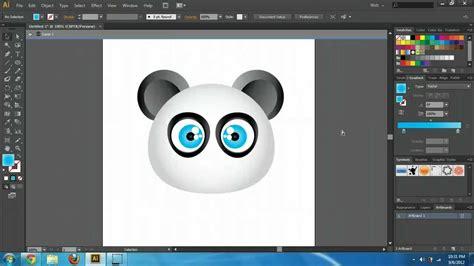 tutorial for illustrator cs6 illustrator cs6 cc create cartoon characters tutorial