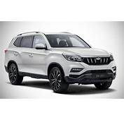 Upcoming Mahindra XUV700 Pic Rendering Based On 2018 Rexton