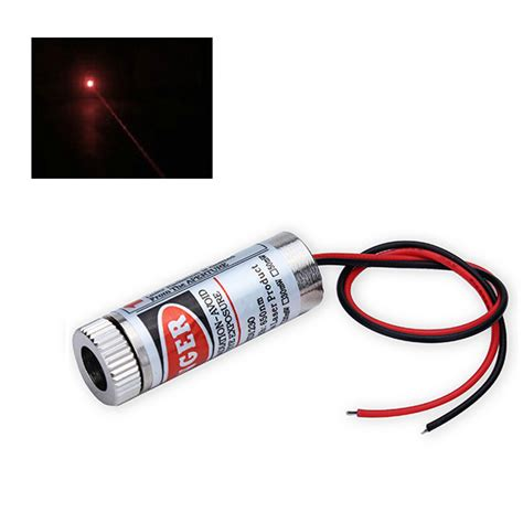 laser diode with lens 5mw 650nm focusable dot laser diode module 135mm lens alex nld