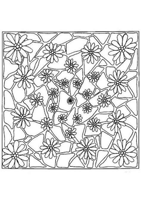 mandalas cuadrados mandala para pintar cuadrado con flores mandalas para pintar