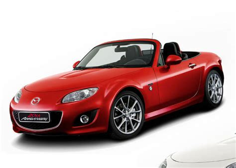 mazda mx5 prices mazda mx5 20th anniversary price