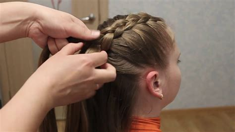 beautiful hairstyles for school youtube beautiful diagonal braid hairstyles for school best