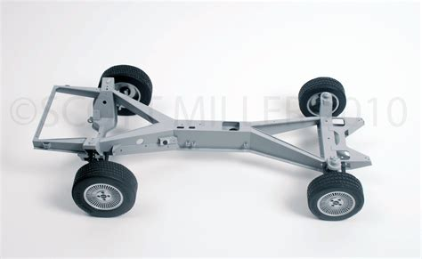 delorean chassis display model by miller at coroflot