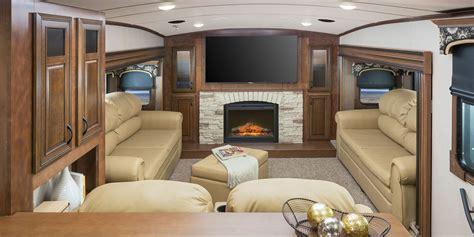 Fifth Wheel Floor Plans Front Living Room by 2016 Luxury Fifth Wheel Camper Jayco Inc