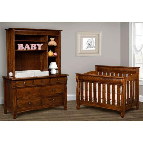 Baby Crib Made In Usa Caspian Convertible Baby Crib Made In Usa American Eco Furniture