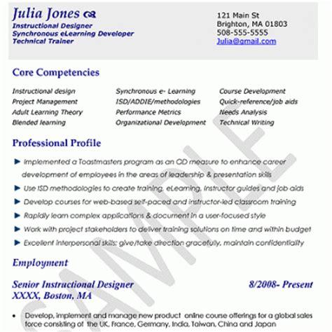 resume format zen resume template