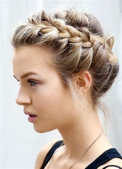 Braid updo hairstyles popular haircuts