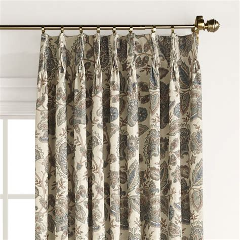 curtain rods for pinch pleated drapes monique pinch pleat drape pair bedroom curtain pleated