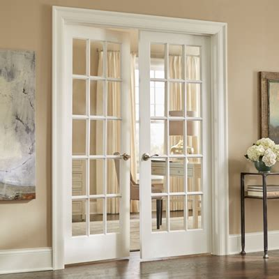 French Doors Interior Home Depot by Closer Doors Amp Serenity Mirror Wood Framed Interior