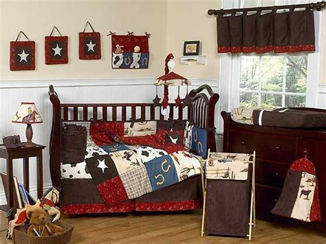 west cowboy western crib bedding set by sweet jojo