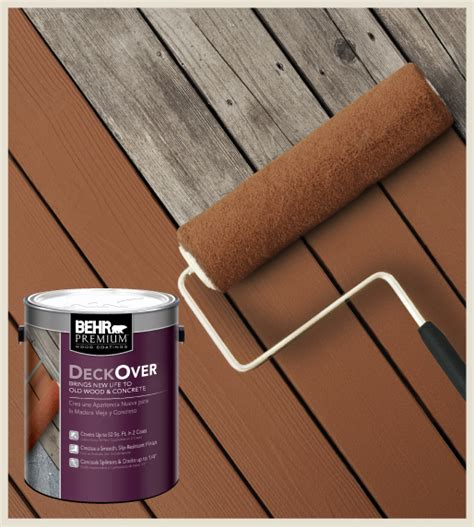 colorfully behr behr deckover makeover