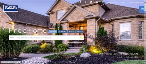 coldwell banker site allows sellers to upload info to