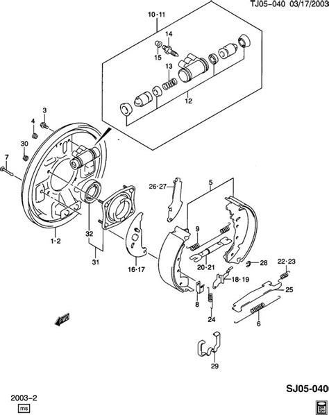2002 chevy tracker rear brake diagram 4 6 overhead engine diagram 4 free engine image for