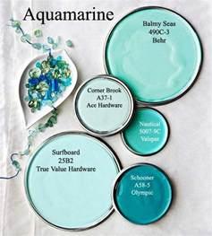 aquamarine paint colors via bhg com color inspirations