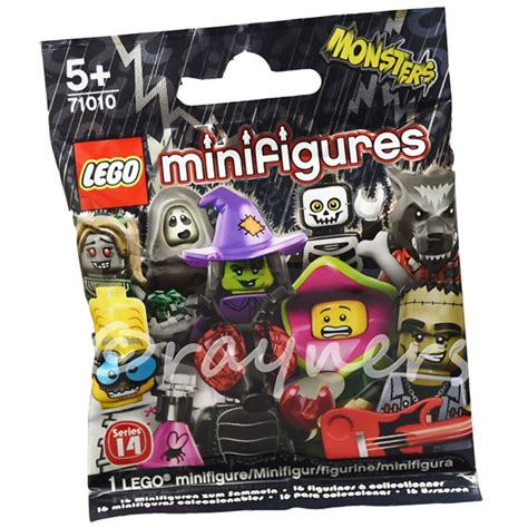 Sealed Lego Minifigure Series 14 Wacky Witch fly factory sealed lego monsters series 14
