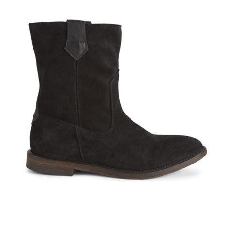 suede slouch boots hudson s hanwell suede slouch boots black