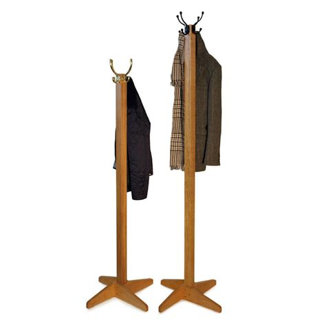 coat stand oak coat and hat stand