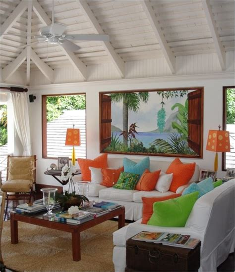 tropical living rooms a touch of tropical centsational girl