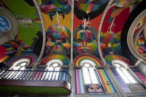 Kaos Colourful Skateboarding quot kaos temple quot by okuda in llanera asturias
