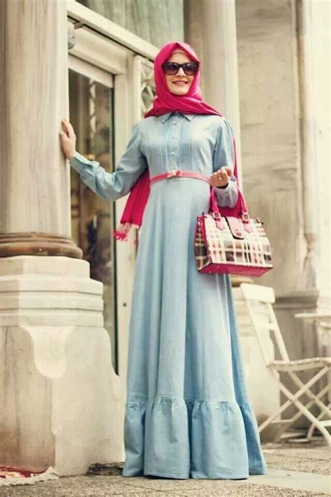 trendy maxi dresses for muslim hijabiworld