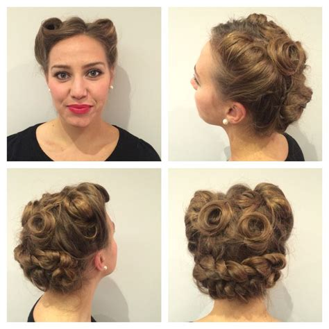 Hairstyle Pin Ups by 22 Best Pin Ups Hairstyles Images On Hair Cuts