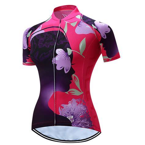 Sale Best Seller Dress Polos Ahzana Jersey Tg Panjang flower sports cycling jersey bike sleeve clothing shirts xs 3xl ebay