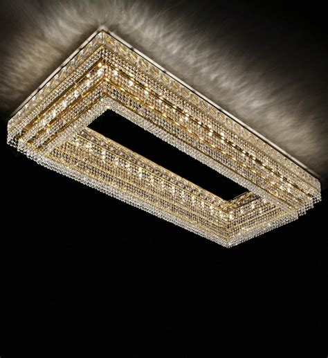Rectangular Shaped Chandeliers Ceiling Light Home Design Ideas