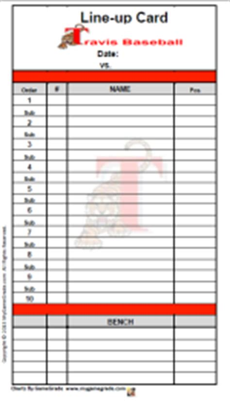 line card template excel search results for free blank baseball lineup card