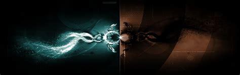 dark wallpaper dual screen download dual dark wallpaper 2880x900 wallpoper 297119