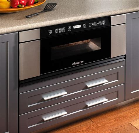 countertop the range or microwave drawers