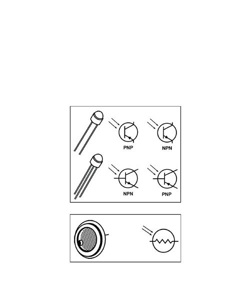 photodiode terminals figure 3 33 two terminal and three terminal phototransistors