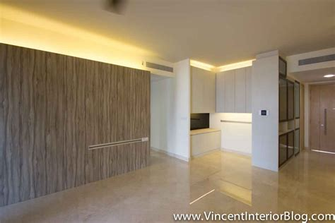 Sliding Door Design For Kitchen by Singapore Condominium Parc Seabreeze Renovation By Raymond