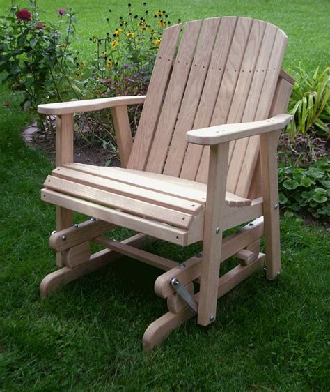 how to build a glider swing adirondack glider chair plans woodworking projects plans