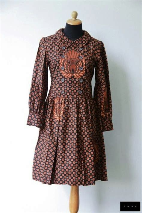Truntum Blouse dress batik truntum gurdo klambi batik