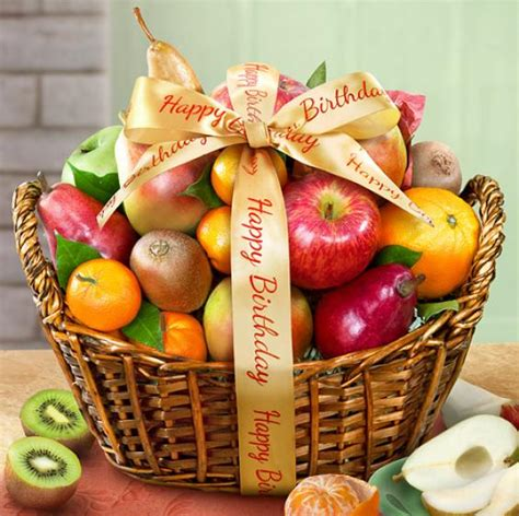 Birthday Decoration Ideas At Home For Boy happy birthday fruit basket aa4000b a gift inside