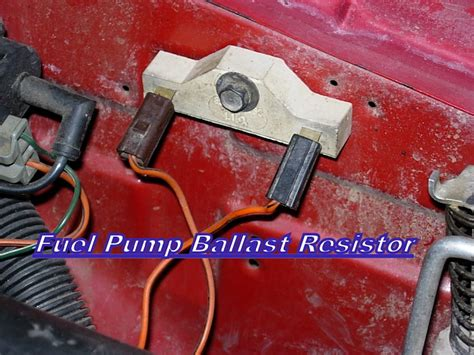 what does a fuel ballast resistor do engine cuts jeep forum