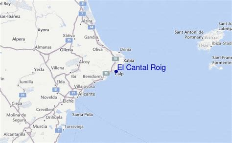 weather forecast cabo roig spain el cantal roig surf forecast and surf reports valencia