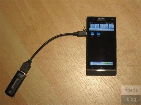 Usb On The Go Sony sony xperia s tutto su display e fotocamera xperia s