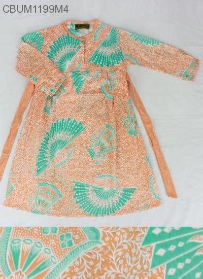 Batik Gamis Kipas gamis anak kipas no 2 3 4 baju muslim anak murah