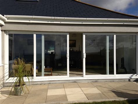 sliding patio doors wood and tinted glass home decor