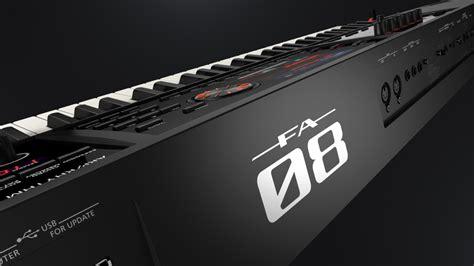 Keyboard Roland Fa 08 roland fa 08 88 key workstation b